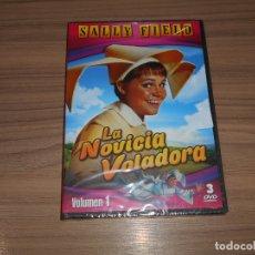 Cine: LA NOVICIA VOLADORA TEMPORADA 1 3 DVD 300 MIN. NUEVA PRECINTADA. Lote 186213278