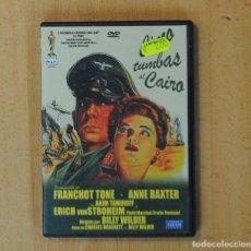 Cine: CINCO TUMBAS AL CAIRO - DVD. Lote 186217873