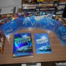 Cine: REGRESO AL FUTURO LA TRILOGIA 4 DVD NUEVO DVD MAS DE 5 HORAS DE EXTRAS STEVEN SPIELBERG COMO NUEVA. Lote 186245643