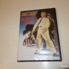 Cine: TEASLI. DVD .VIDEO. UN LEÓN EN LAS CALLES. JAMES GAGNEY. NUEVA SIN ESTRENAR.. Lote 186329277