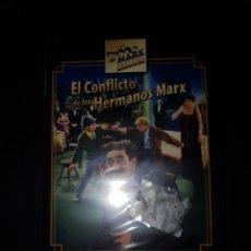 Cine: DVD - EL CONFLICTO DE LOS HERMANOS MARX ( HERMANOS MARX ). Lote 186338811