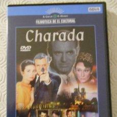 Cine: CHARADA. DVD DE LA PELICULA DE STANLEY DONEN. CON CARY GRANT Y AUDREY HEPBURN. COLOR. 113 MINUTOS.. Lote 186353111