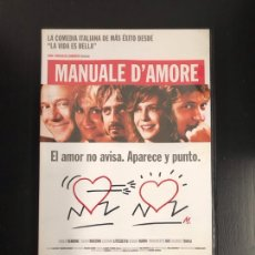 Cine: MANUALE D'AMORE. Lote 186367676