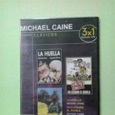 Cine: LMV - LA HUELLA / HA LLEGADO EL ÁGUILA / INFIERNO EN COREA - DVD. Lote 186392753