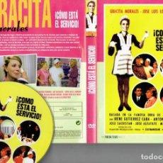 Cine: DVD,¡ COMO ESTA EL SERVICIO POR GRACITA MORALES NUEVA ESPAÑOLA. Lote 186392920