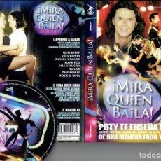 Cine: DVD MIRA QUIEN BAILA...POTY TE ENSEA A BAILAR DE UNA MANERA FACIL Y SEGURA. Lote 186394630