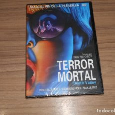 Cine: TERROR MORTAL DEATH VALLEY DVD NUEVA PRECINTADA. Lote 186394635
