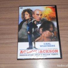 Cine: ACCION JACKSON DVD SHARON STONE NUEVA PRECINTADA. Lote 186394660