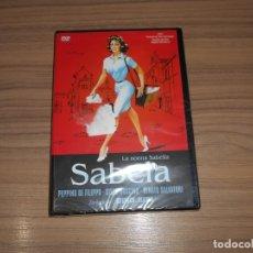 Cine: SABELA DVD DE DINO RISI RENATO SALVATORI SYLVA KOSCINA NUEVA PRECINTADA. Lote 186394702
