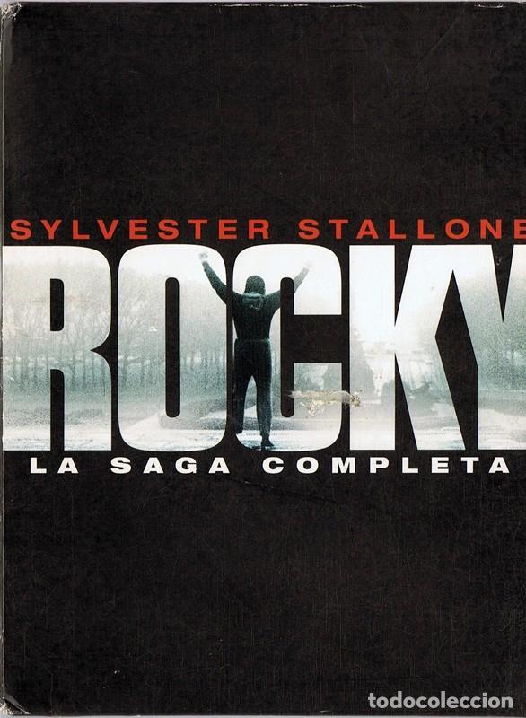 ROCKY LA SAGA COMPLETA SYLVESTER STALLONE (Cine - Películas - DVD)