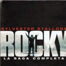 Cine: ROCKY LA SAGA COMPLETA SYLVESTER STALLONE . Lote 186417352