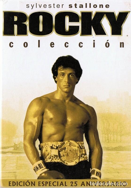ROCKY COLECCIÓN EDICIÓN 25 ANIVERSARIO SYLVESTER STALLONE (Cine - Películas - DVD)