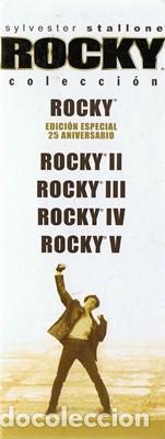 Cine: ROCKY COLECCIÓN EDICIÓN 25 ANIVERSARIO SYLVESTER STALLONE - Foto 2 - 186417900