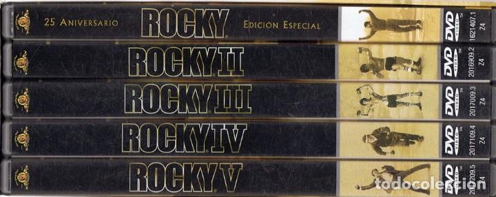 Cine: ROCKY COLECCIÓN EDICIÓN 25 ANIVERSARIO SYLVESTER STALLONE - Foto 3 - 186417900