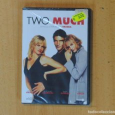 Cine: TWO MUCH - DVD. Lote 186444218