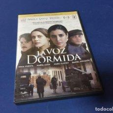 Cine: DVD LA VOZ DORMIDA BENITO ZAMBRANO INMA CUESTA MARÍA LEÓN. Lote 186587931