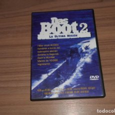 Cine: DAS BOOT 2 LA ULTIMA MISION DVD COMO NUEVA. Lote 186819165
