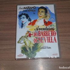 Cine: AVENTURAS DEL BARBERO DE SEVILLA DVD DE LADISLAO VAJDA NUEVA PRECINTADA. Lote 187153646