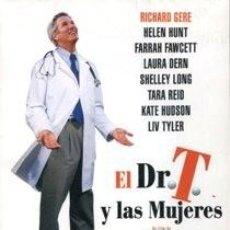 Cine: EL DR. T. Y LAS MUJERES DIRECTOR: ROBERT ALTMAN ACTORES: RICHARD GERE, HELEN HUNT, FARRAH FAWCETT. Lote 187206863