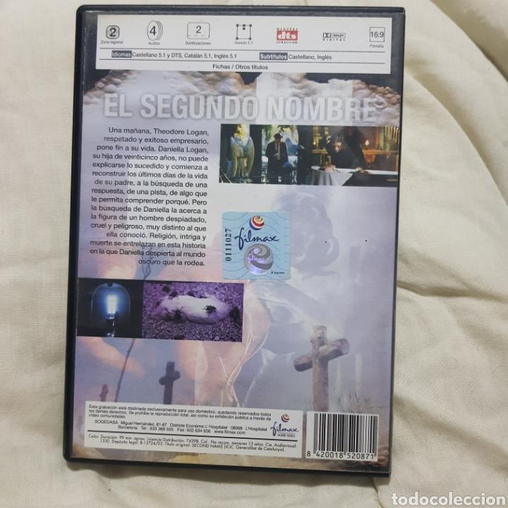 Cine: (S255) el segundo nombre - DVD SEGUNDAMANO - Foto 2 - 187229262