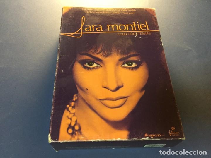 PACK 6 DVD SARA MONTIEL TUSET STREET LA MUJER PERDIDA NOCHES DE CASABLANCA SAMBA ESA MUJER LA DAMA D (Cine - Películas - DVD)