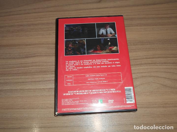 Cine: CUMPLEAÑOS MORTAL DVD Terror GLENN FORD Nueva PRECINTADA - Foto 2 - 187464885