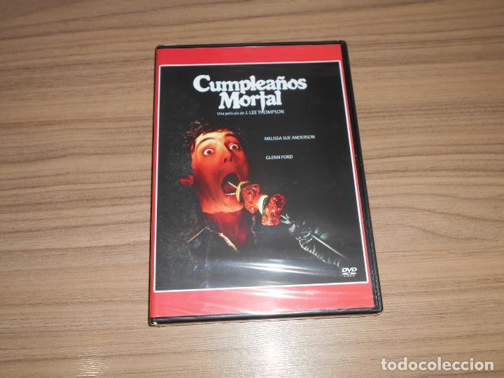 CUMPLEAÑOS MORTAL DVD TERROR GLENN FORD NUEVA PRECINTADA (Cine - Películas - DVD)