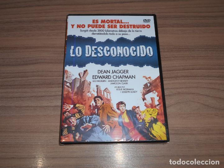 LO DESCONOCIDO DVD DEAN JAGGER EDWARD CHAPMAN NUEVA PRECINTADA (Cine - Películas - DVD)