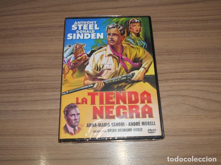LA TIENDA NEGRA DVD ANTHONY STEEL NUEVA PRECINTADA (Cine - Películas - DVD)