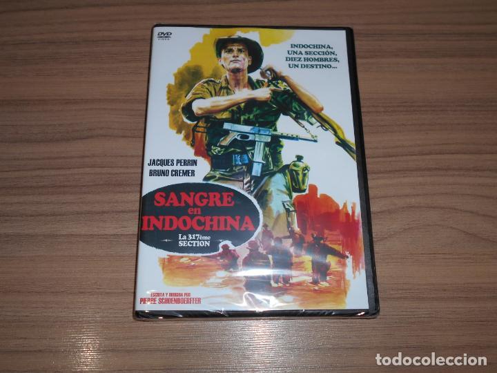 SANGRE EN INDOCHINA DVD NUEVA PRECINTADA (Cine - Películas - DVD)