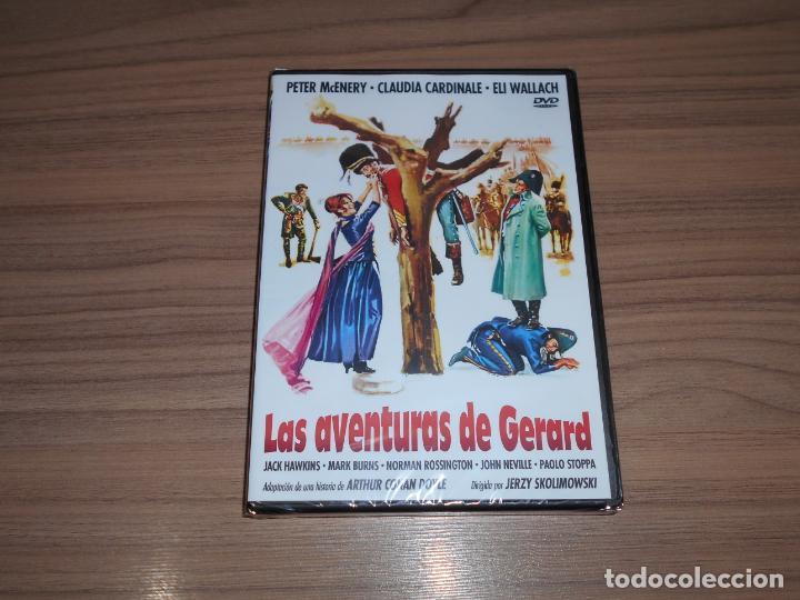 LAS AVENTURAS DE GERARD DVD ELI WALLACH CLAUDIA CARDINALE NUEVA PRECINTADA (Cine - Películas - DVD)