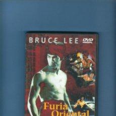 Cine: DVD - FURIA ORIENTAL - BRUCE LEE. Lote 187473076
