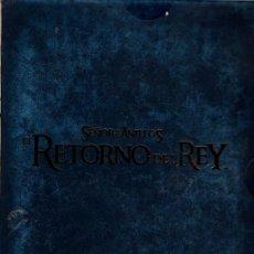 Cine: EL SEÑOR DE LOS ANILLOS DVD .EL RETORNO DEL REY- VERSION EXTENDIDA- 4 DISCOS ...IMPECABLE. Lote 187496645