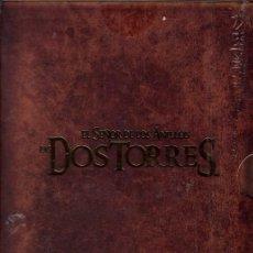 Cine: EL SEÑOR DE LOS ANILLOS DVD .LAS DOS TORRES- VERSION EXTENDIDA- 4 DISCOS ...IMPECABLE. Lote 187496751