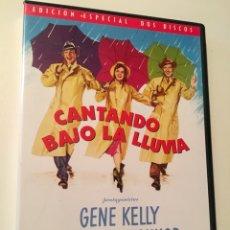 Cine: CANTANDO BAJO LA LLUVIA, EDICIÓN ESPECIAL 2 DISCOS (GENE KELLY, DEBBIE REYNOLDS, DONALD O'CONNOR). Lote 187672146