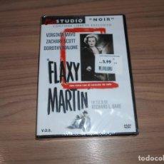 Cine: FLAXY MARTIN EDICION ESPECIAL DVD + LIBRO VIRGINA MAYO DOROTHY MALONE NUEVA PRECINTADA. Lote 232444335