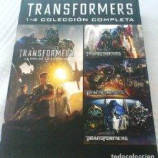 Cine: TRANSFORMERS 1-4 COLECCION COMPLETA 4 DVDS. Lote 188471018