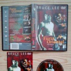 Cine: BRUCE LEE - FURIA ORIENTAL DVD. Lote 188498812