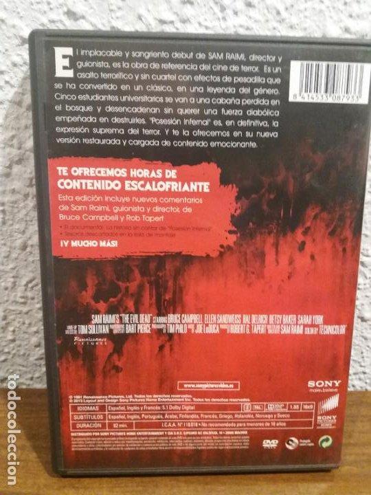 Cine: DVD POSESION INFERNAL - Foto 2 - 188604211