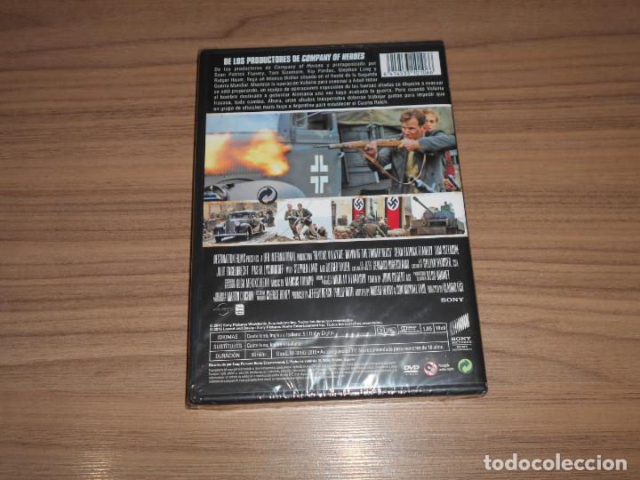 Cine: VALKIRIA el AMANECER del CUARTO REICH DVD Nazis NUEVA PRECINTADA - Foto 2 - 210001026