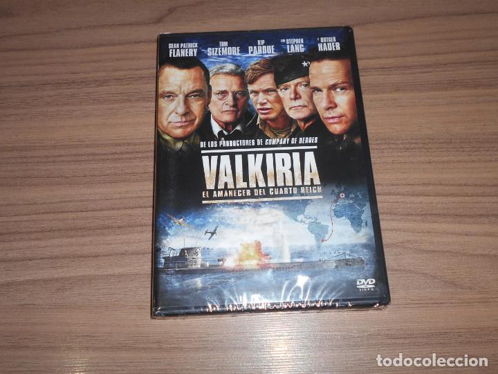 VALKIRIA EL AMANECER DEL CUARTO REICH DVD NAZIS NUEVA PRECINTADA (Cine - Películas - DVD)
