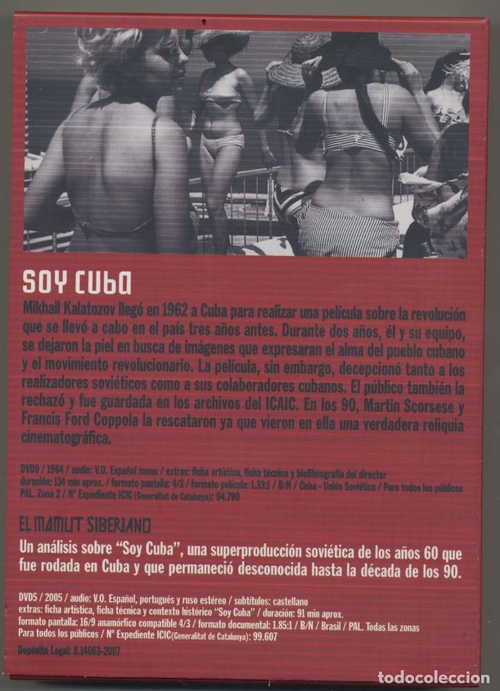 Cine: SOY CUBA DVD + EL MAMUT SIBERIANO DVD- UN PACK QUE NINGUN CINÉFILO DEBERIA PERDERSE. - Foto 2 - 232864300