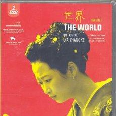 Cine: THE WORLD DVD (1.DVD-JIA ZHANGKE): -DRAMA DE DOS CHICAS CHINAS EN UN ENTORNO LLENO DE FATALIDADES. Lote 188695447