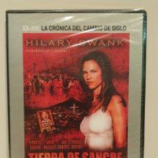 Cine: DVD/ TIERRA DE SANGRE/ JUSTICIA CONTRA VIOLENCIA/ HILARY SWANK/DVD NUEVO PRECINTADO.. Lote 188762585
