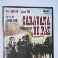 Cine: CARAVANA DE PAZ (BEN JOHNSON, JANE DARWELL) *** DVD FILM *** WESTERN/ AVENTURAS ***. Lote 188776423