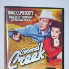 Cine: CORONEL CREEK (RANDOLPH SCOTT, SALLY EILERS, LEE BENETT) *** DVD FILM *** WESTERN *** . Lote 188777655