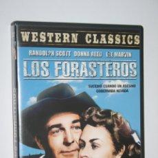 Cine: LOS FORASTEROS (RANDOLPH SCOTT, LEE MARVIN, DONNA REED ) *** DVD FILM WESTERN *** LIQUIDACION. Lote 188785348