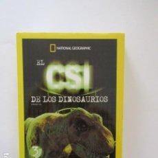 Cine: EL CSI DE LOS DINOSAURIOS, NATIONAL GEOGRAPHIC, PACK 3 DVD. Lote 188838795