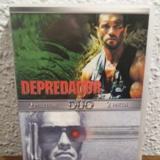 Cine: PACK DVD DEPREDADOR Y TERMINATOR. Lote 189111451