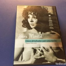 Cine: DVD CINCO ALMOHADAS PARA UNA NOCHE PEDRO LAZAGA SARA MONTIEL CRAIG HILL MANUEL ZARZO. Lote 189188946